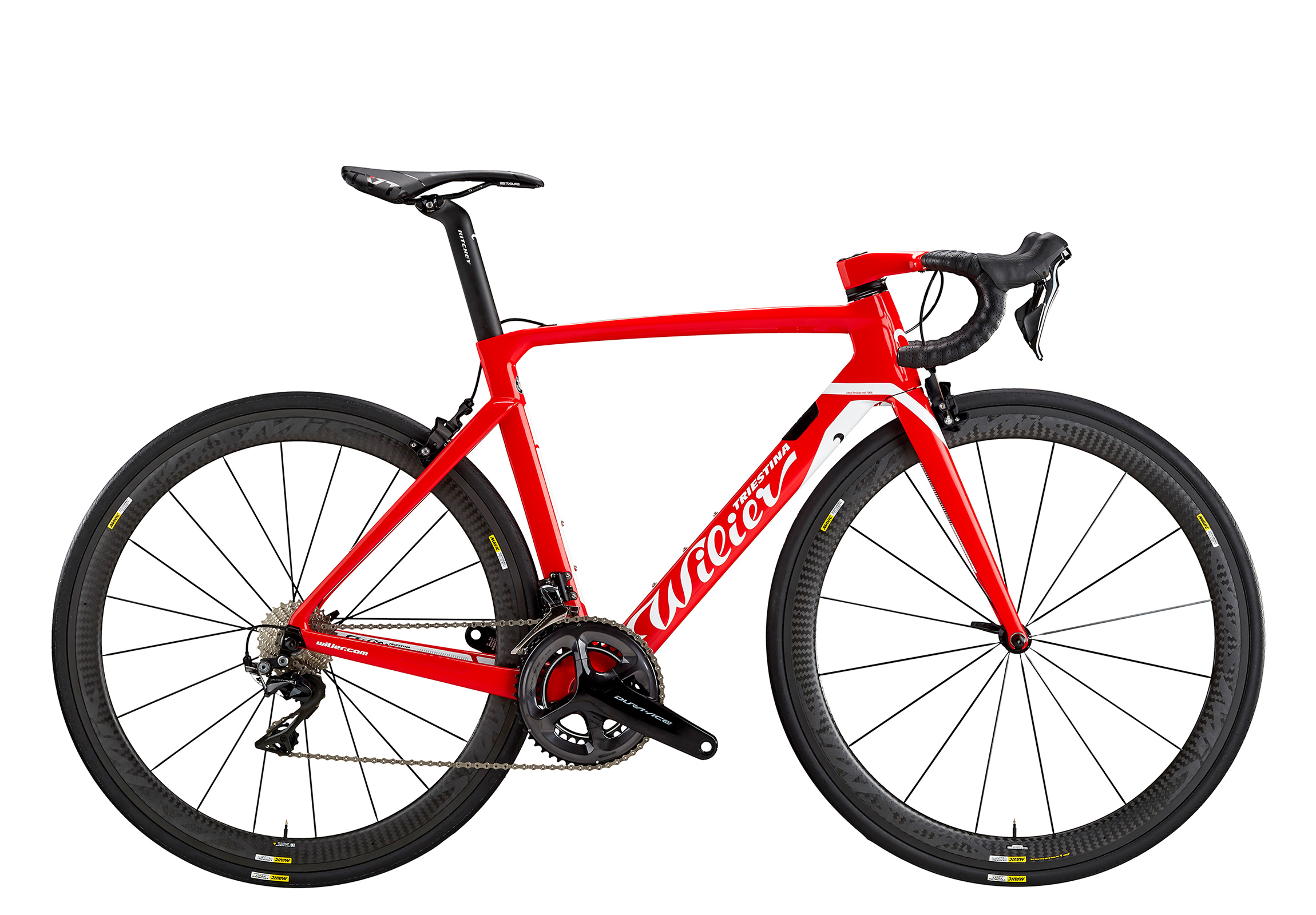 Cento10AIR - D4 RED WHITE GLOSSY