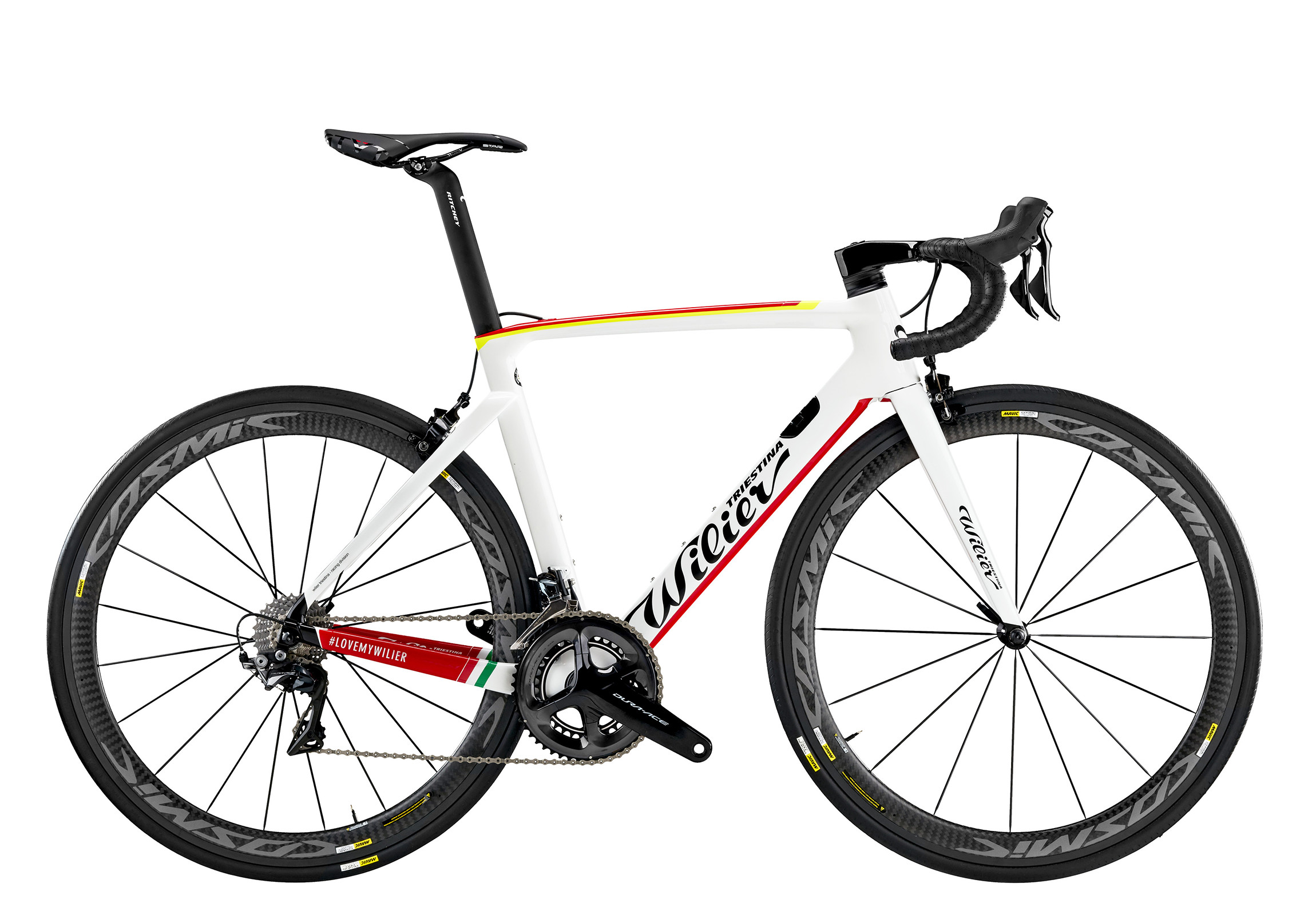 Cento10AIR - D8 WHITE RED YELLOW GLOSSY