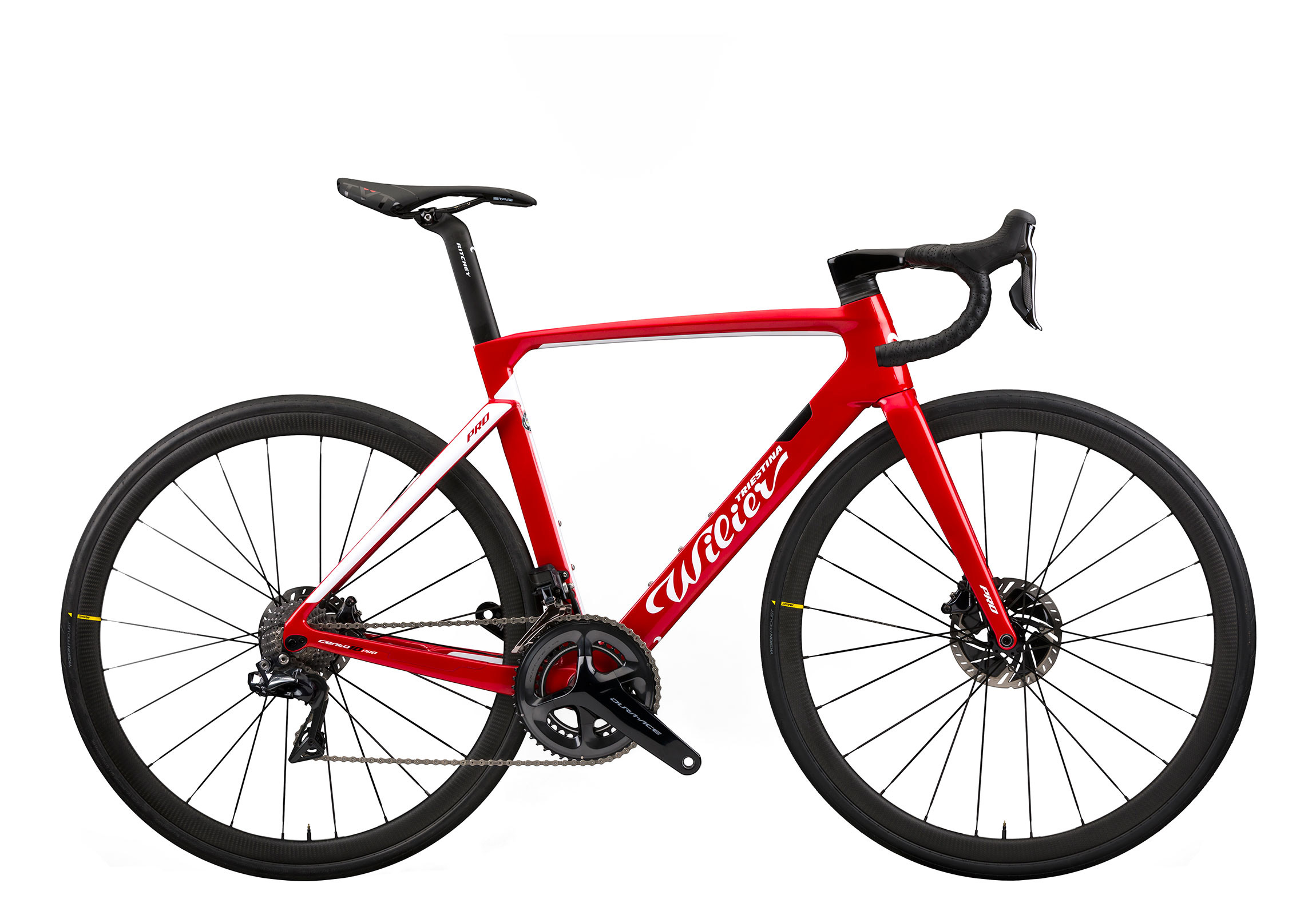 Cento10PRO - D10 RED / WHITE GLOSSY